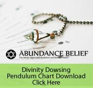 Divinity Pendulum Dowsing Chart