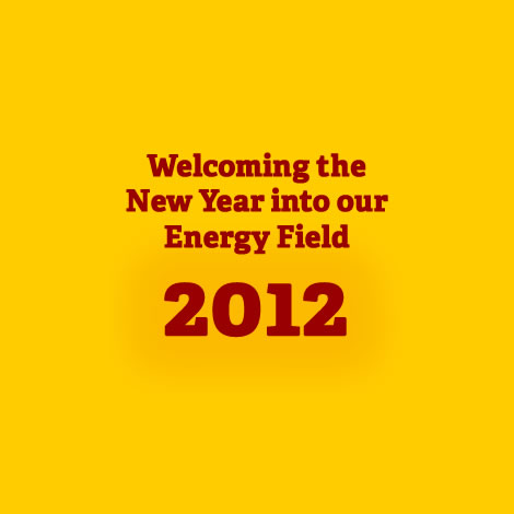Post image for Welcoming the New Year into our Energy Field